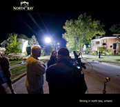 Download Filming in North Bay, Ontario