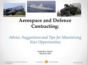 Download NORD 2018  Aerospace and Defence Contracting